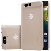 Чехол Nillkin Matte для Huawei Nexus 6P (+ пленка)Золотой