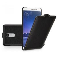Кожаный чехол (флип) TETDED для Xiaomi Redmi Note 3 / Redmi Note 3 ProЧерный / Black