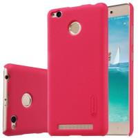 Чехол Nillkin Matte для Xiaomi Redmi 3 Pro / Redmi 3s (+ пленка)Красный