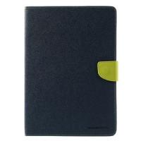 Чехол (книжка) Mercury Fancy Diary series для Apple iPad Air 2Синий / Лайм