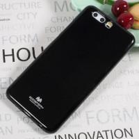 TPU чехол Mercury Jelly Color series для Huawei P10 PlusЧерный