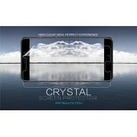 Защитная пленка Nillkin Crystal для Meizu Pro 7 PlusАнти-отпечатки