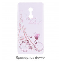 TPU чехол Cute Print для Meizu Pro 7Sweet Paris