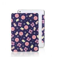 """Кожаный чехол (книжка) ROCK Anne's Garden Series для Apple iPad Pro 10.5"""" (2017)Фиолетовый / Purple"""