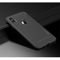 "TPU чехол iPaky Slim Series для Apple iPhone X (5.8"")Серый"