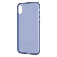 "TPU чехол Baseus Simple Ultrathin для Apple iPhone X (5.8"")Синий / Transparent Blue"