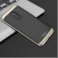 Чехол iPaky TPU+PC для Meizu M6Черный / Золотой