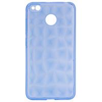 TPU чехол SMX Diamond для Xiaomi Redmi 4XСиний / Transparent Blue