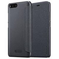 Кожаный чехол (книжка) Nillkin Sparkle Series для Xiaomi Mi 6Черный