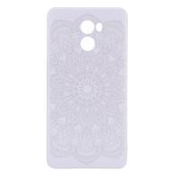 TPU чехол матовый soft touch для Xiaomi Redmi 4Узор Белый