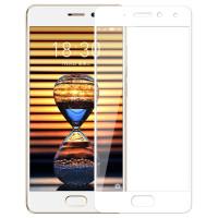 Защитное стекло 2.5D CP+ на весь экран (цветное) для Meizu Pro 7 PlusБелый