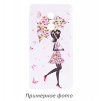 TPU чехол Cute Print для Meizu Pro 7Umbrella