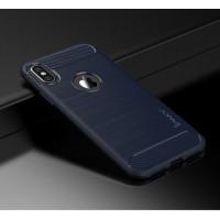 "TPU чехол iPaky Slim Series для Apple iPhone X (5.8"")Синий"