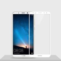 Защитное цветное стекло Mocolo (CP+) на весь экран для Huawei Mate 10 LiteБелый