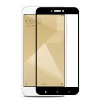 Защитное цветное стекло Mocolo (CP+) на весь экран для Xiaomi Redmi 4aЧерный