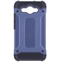 Бронированный противоударный TPU+PC чехол SPIGEN (HC) для Huawei Y3 (2017)Синий