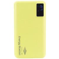 Портативное зарядное устройство Mezone AP9 с дисплеем (10000mAh 2USB 2.1A) (+кабель MicroUSB)Желтый