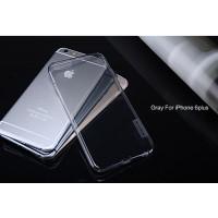 "TPU чехол Nillkin Nature Series для Apple iPhone 6/6s plus (5.5"")Серый (прозрачный)"