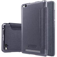 Кожаный чехол (книжка) Nillkin Sparkle Series для Xiaomi Redmi 3Черный