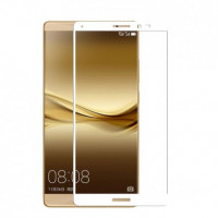 Защитное стекло 2.5D CP+ на весь экран (цветное) для Huawei Mate 8Белый