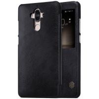 Кожаный чехол (книжка) Nillkin Qin Series для Huawei Mate 9Черный
