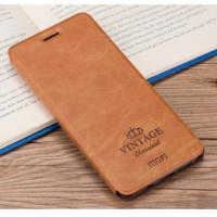 Кожаный чехол (книжка) MOFI Vintage Series для Xiaomi Redmi 4 Pro / Redmi 4 PrimeКоричневый