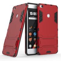 Ударопрочный чехол-подставка Transformer для Xiaomi Mi Max 2 с мощной защитой корпусаКрасный / Dante Red