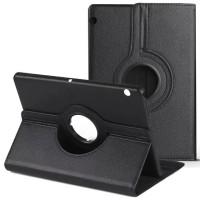 """Кожаный чехол-книжка TTX (360 градусов) для Huawei MediaPad T3 10"""" LTEЧерный"""