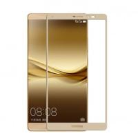 Защитное стекло 2.5D CP+ на весь экран (цветное) для Huawei Mate 8Золотой