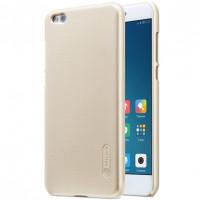 Чехол Nillkin Matte для Xiaomi Mi 5c (+ пленка)Золотой