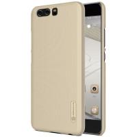 Чехол Nillkin Matte для Huawei P10 Plus (+ пленка)Золотой