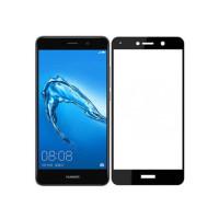 Защитное цветное стекло Mocolo (CP+) на весь экран для Huawei Honor 7 PlusЧерный