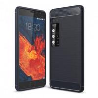 TPU чехол Caseology Slim для Meizu Pro 7 PlusСиний