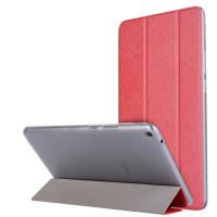 """Кожаный чехол-книжка TTX (Super slim) для Huawei MediaPad T3 10"""" LTEКрасный"""
