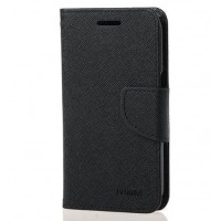 Чехол (книжка) Mercury Fancy Diary series для Xiaomi Redmi 3Черный / Черный