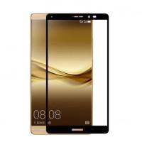 Защитное стекло 2.5D CP+ на весь экран (цветное) для Huawei Mate 8Черный