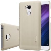 Чехол Nillkin Matte для Xiaomi Redmi 4 Pro / Redmi 4 Prime (+ пленка)Золотой