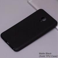 TPU чехол матовый SMTT для Meizu M5 NoteЧерный (Soft touch)