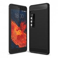 TPU чехол Caseology Slim для Meizu Pro 7 PlusЧерный