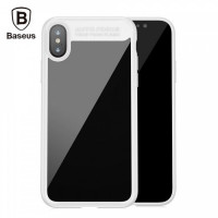 "TPU чехол Baseus Suthin Case для Apple iPhone X (5.8"")Белый"
