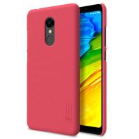 Чехол Nillkin Matte для Xiaomi Redmi 5 (+ пленка)Красный