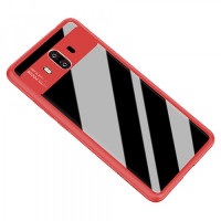 TPU чехол Rock Clarity Series для Huawei Mate 10Красный / Red