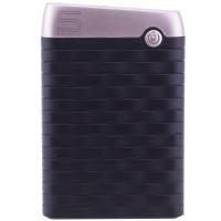 Портативное зарядное устройство Mezone X6 (5000mAh 2USB 2.4A) (+кабель MicroUSB)Черный / Золотой
