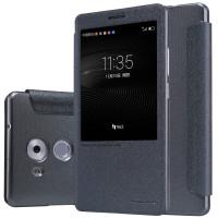 Кожаный чехол (книжка) Nillkin Sparkle Series для Huawei Mate 8Черный