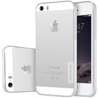 TPU чехол Nillkin Nature Series для Apple iPhone 5/5S/SEБесцветный (прозрачный)