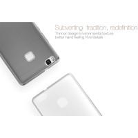 TPU чехол Nillkin Nature Series для Huawei P9 LiteСерый (прозрачный)