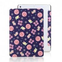 """Кожаный чехол (книжка) ROCK Anne's Garden Series для Apple iPad 9,7"""" (2017)Котики"""