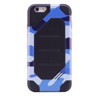 "TPU+PC чехол MOTOMO (Military) для Apple iPhone 6/6s (4.7"")Синий / Камуфляж"
