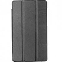"""Кожаный чехол-книжка TTX (Super slim) для Huawei MediaPad T3 7""""Черный"""