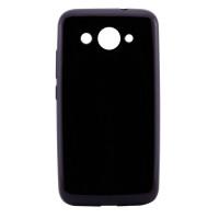 TPU чехол T-phox Shinny series (глянец) для Huawei Y3 (2017)Черный